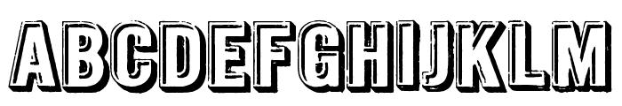 Intaglio DEMO Font LOWERCASE