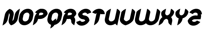 Intan Putri Pratiwi Bold Italic Font UPPERCASE