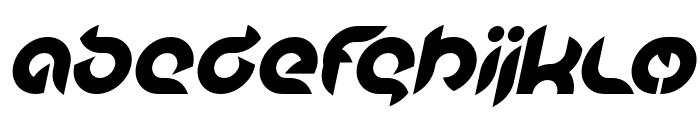 Intan Putri Pratiwi Bold Italic Font LOWERCASE