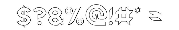 Intan Putri Pratiwi-Hollow Font OTHER CHARS