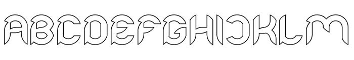 Intan Putri Pratiwi-Hollow Font UPPERCASE