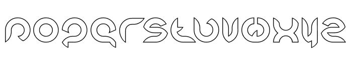 Intan Putri Pratiwi-Hollow Font LOWERCASE