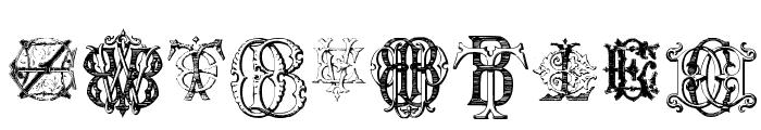 Intellecta Monograms Random Samples Eleven Font OTHER CHARS