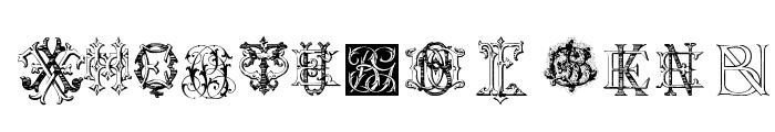 Intellecta Monograms Random Samples Four Font LOWERCASE