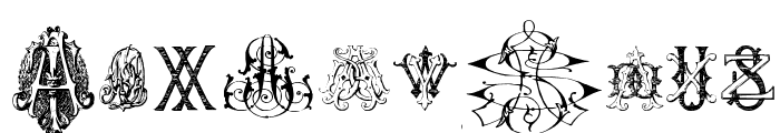 Intellecta Monograms Random Samples Nine Font OTHER CHARS