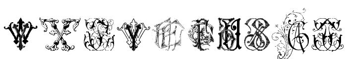 Intellecta Monograms Random Samples Seven Font OTHER CHARS