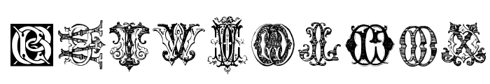 Intellecta Monograms Random Samples Three.vfb Font OTHER CHARS
