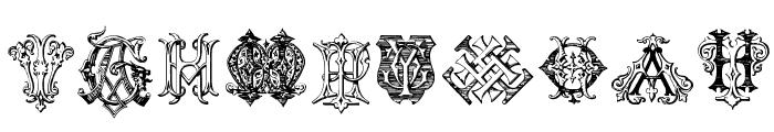 Intellecta Monograms Random Samples Twelve Font OTHER CHARS