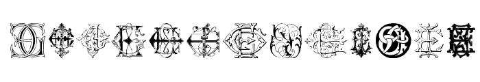 Intellecta Monograms Random Samples Twelve Font UPPERCASE
