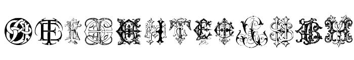 Intellecta Monograms Random Samples Twelve Font LOWERCASE
