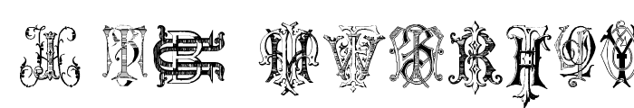 Intellecta Monograms Random Samples Two Font OTHER CHARS