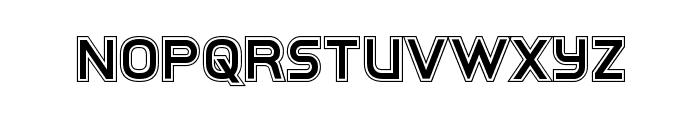 Inter-Bureau Academy Font UPPERCASE