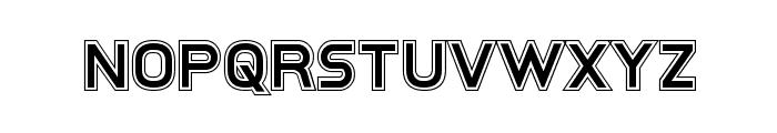 Inter-Bureau Academy Font LOWERCASE