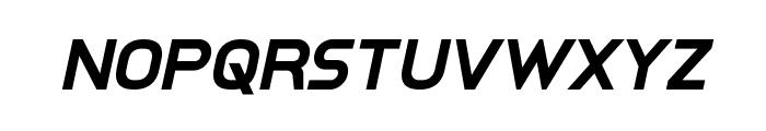 Inter-Bureau Bold Italic Font LOWERCASE