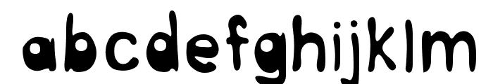 InterNuT Round Font LOWERCASE