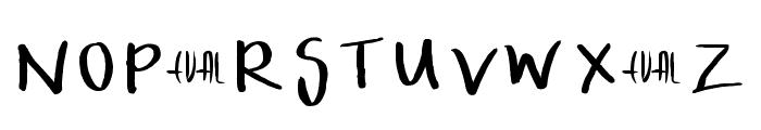 InterceptMeEVAL Font UPPERCASE