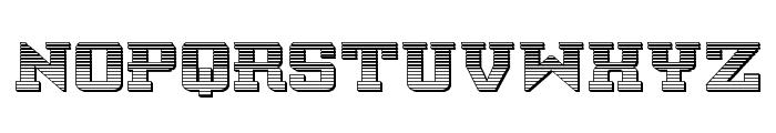 Interceptor Chrome Font UPPERCASE