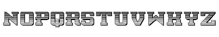 Interceptor Chrome Font LOWERCASE