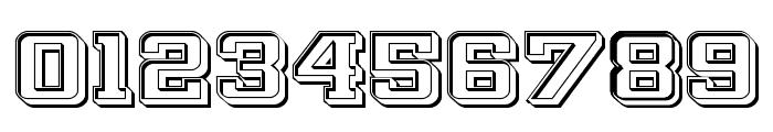 Interceptor Engraved Font OTHER CHARS