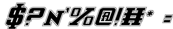 Interceptor Pro Italic Font OTHER CHARS