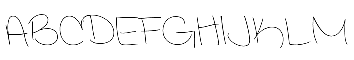 Interconnected Demo Light Font UPPERCASE