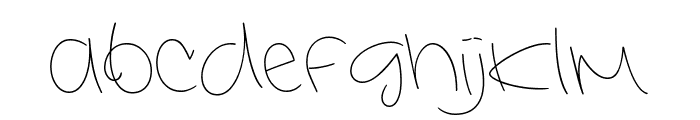 Interconnected Demo Light Font LOWERCASE