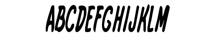 International Super Hero Cond Font UPPERCASE