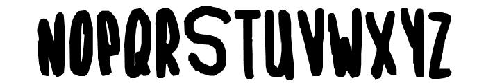 Internet Is Back Up Font UPPERCASE