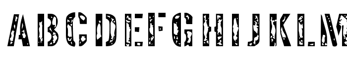 Interplanetary Crap Font UPPERCASE