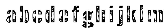 Interplanetary Crap Font LOWERCASE