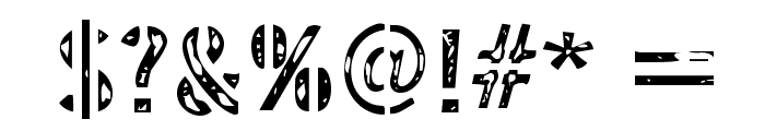 InterplanetaryCrap-Regular Font OTHER CHARS