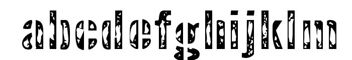 InterplanetaryCrap-Regular Font LOWERCASE