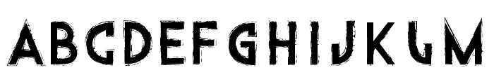 Into the Gator Pit Font UPPERCASE