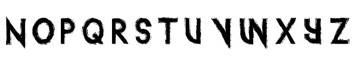 IntotheGatorPit Font UPPERCASE