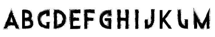 IntotheGatorPit Font LOWERCASE
