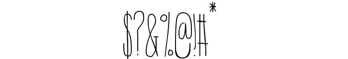 IntotheVortex-Regular Font OTHER CHARS