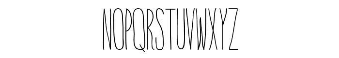 IntotheVortex-Regular Font UPPERCASE