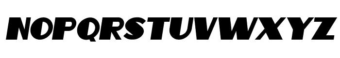 Intransitive Italic Font UPPERCASE