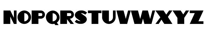 Intransitive Regular Font UPPERCASE