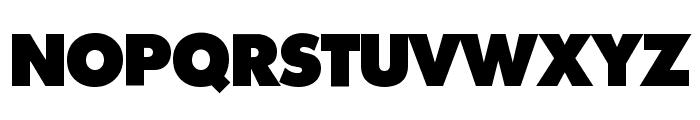 Intrepid ExtraBold Font UPPERCASE