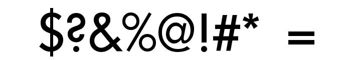 Intrepid Regular Font OTHER CHARS