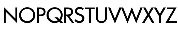 Intrepid Regular Font UPPERCASE