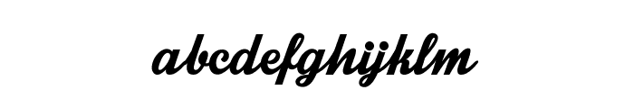 Intrique Script Personal Use Font LOWERCASE