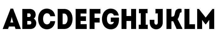 IntroCondBlackFree Font UPPERCASE