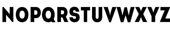 IntroCondBlackFree Font LOWERCASE