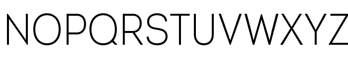 IntroCondLightFree Font UPPERCASE