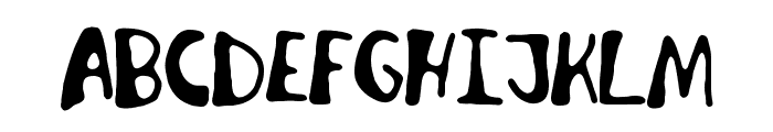 Invader Candy Font LOWERCASE