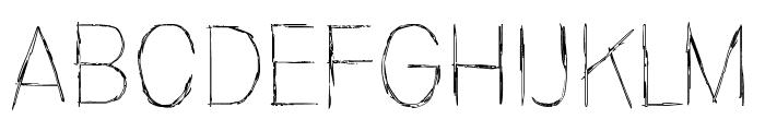 Invisiblerror, Edge Font UPPERCASE
