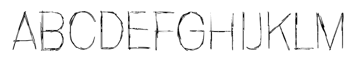 Invisiblerror, Edge Font LOWERCASE