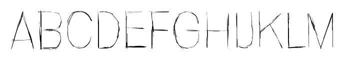 Invisiblerror, Fast Font UPPERCASE